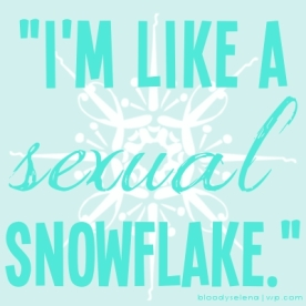 schmidtism_sexual snowflake