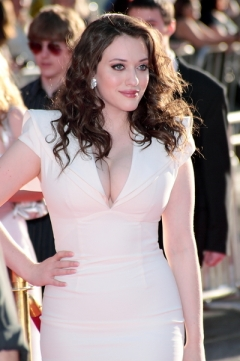 Kat Dennings as Diana Prince / Wonder Woman