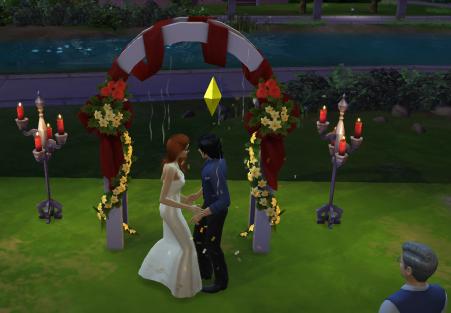 Le mariage de Babs et Dick